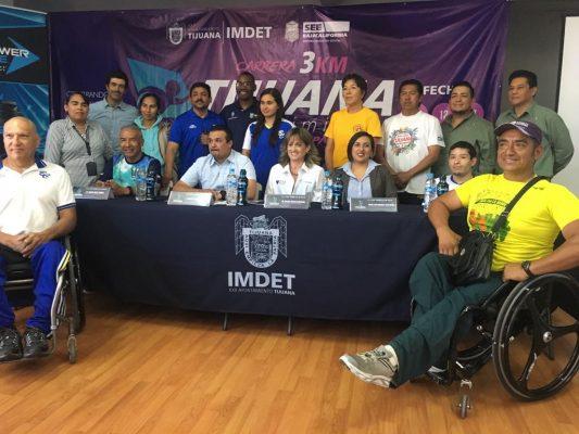 Correrán por Día Mundial de Personas con Discapacidad