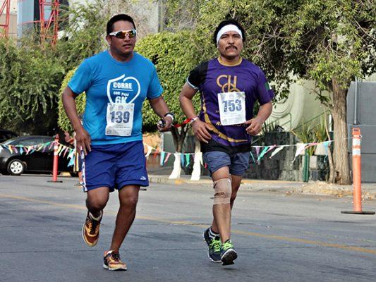 Este domingo, en el marco del Día Mundial de la Discapacidad Lista, la carrera