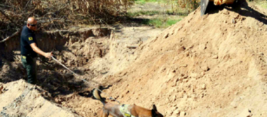 Localizan restos de desaparecido por agentes de la PEP