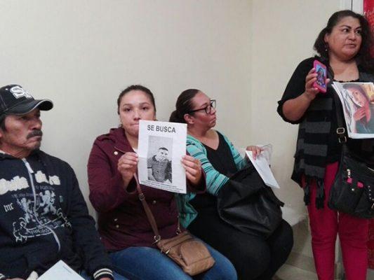 Madres exigen justicia por hijos desaparecidos