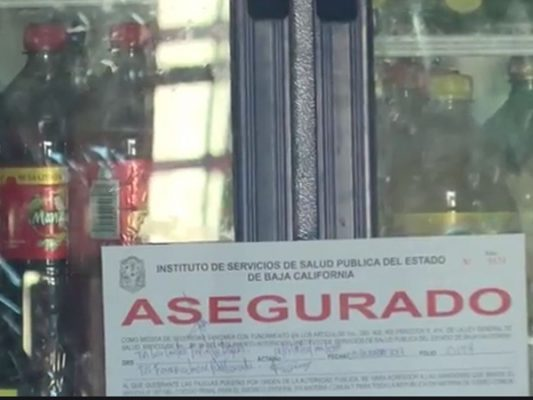 Han asegurado 8 mil refrescos en Mexicali