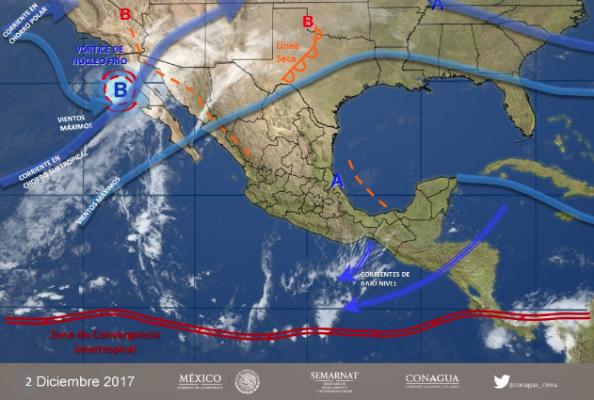 Clima en Tijuana, se espera ambiente frío en BC ❄️