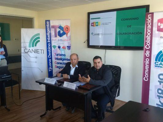 Firman convenio de colaboración Canieti y el Cluster Gastro turístico de BC