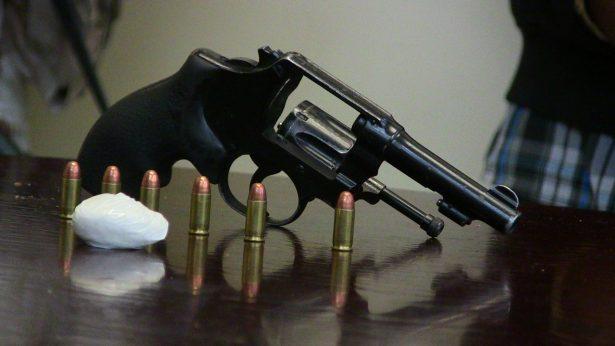 910 heridos con arma de fuego en 2017