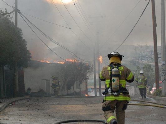 Aumentan 92% los incendios en Tijuana
