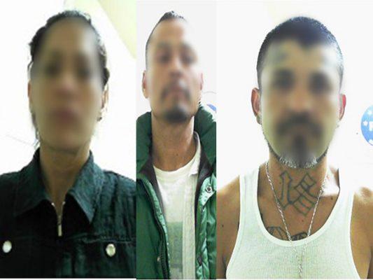 Detienen a dos presuntos ladrones y narcomenudista