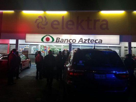 Frustran asalto a banco, hay un herido