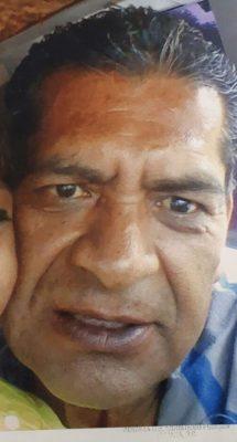 Buscan a hombre de 53 años