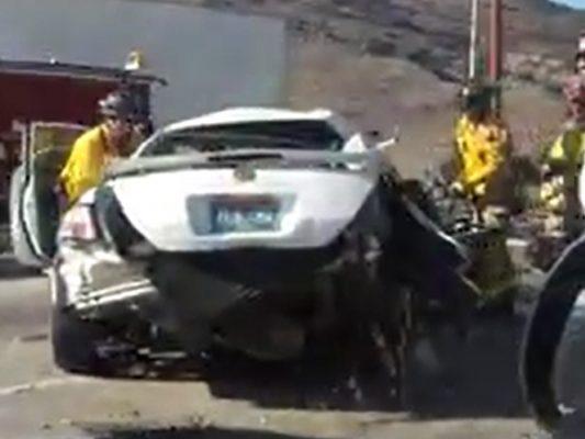 [Video] Fuerte accidente en Valle Sur; hay heridos