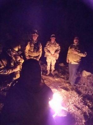 Sofocan 30% del incendio en el Cerro Bola
