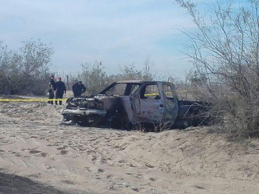 Encuentran cráneos en el valle de Mexicali