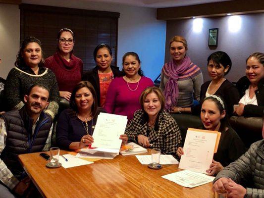 """Tecate, 1er municipio en signar """"Pacto por los Derechos de Mujeres, Niñas y Niños"""""""