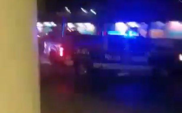 [VIDEO] Persecución deja 2 agentes heridos