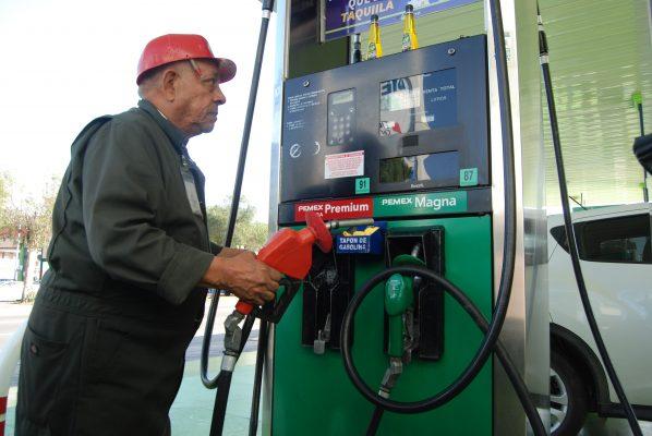 Cayó 20% la venta  de gasolina en 2017