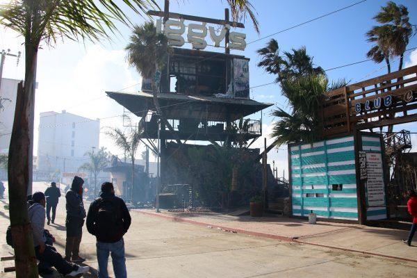 Se incendia ¨IGGY´S¨ en Rosarito