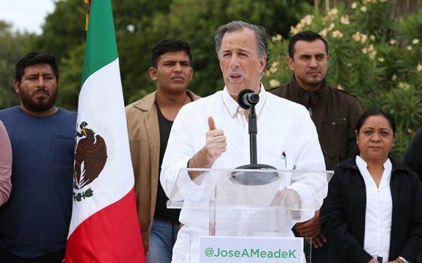 Políticos corruptos recibirán pena máxima, promete Meade