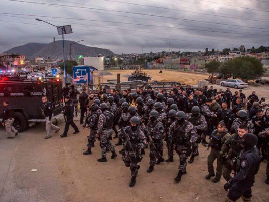 """Confiscan armas y droga en operativo """"masivo"""""""
