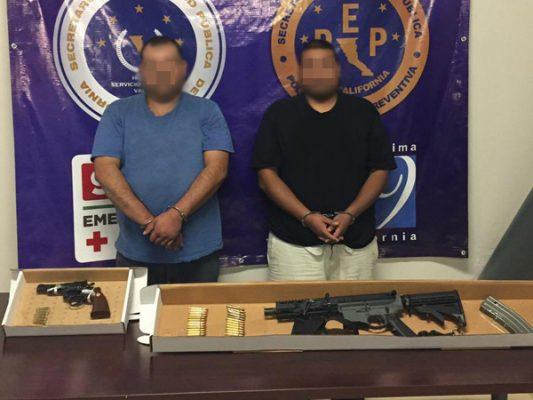 Capturan a 2 hombres con armas en el Guaycura