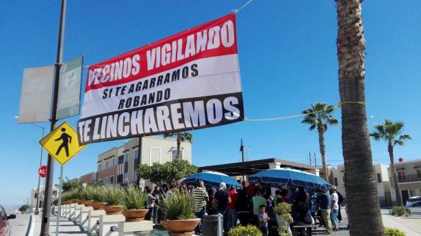 Linchan a ratero en Los Laurales