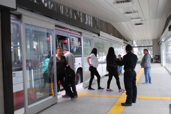 Policía Municipal ha aumentado vigilancia en estaciones del SITT