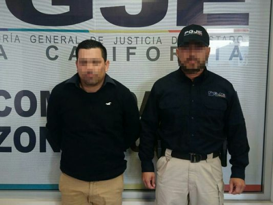 Capturan a presunto asaltante de negocio de autopartes [Video]