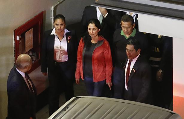 Trasladarán a la cárcel al expresidente peruano Humala y a su esposa