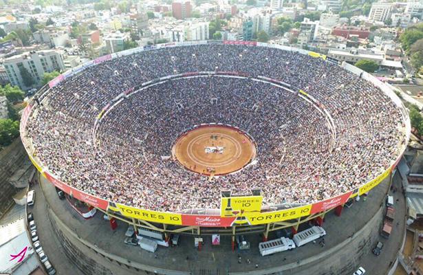 La Plaza México con total seguridad