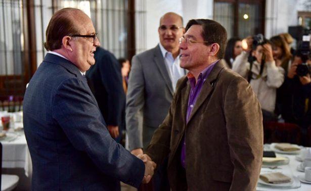 Graco Ramírez se reúne con empresarios