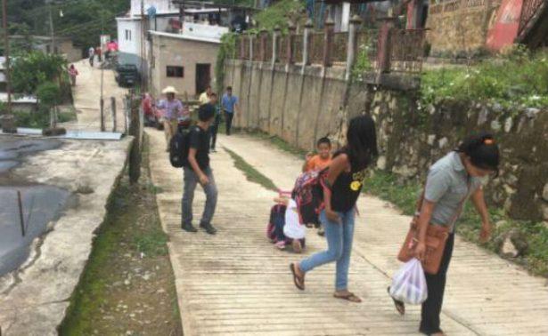 Evacuan a 120 familias en Chiapas por riesgo de deslaves