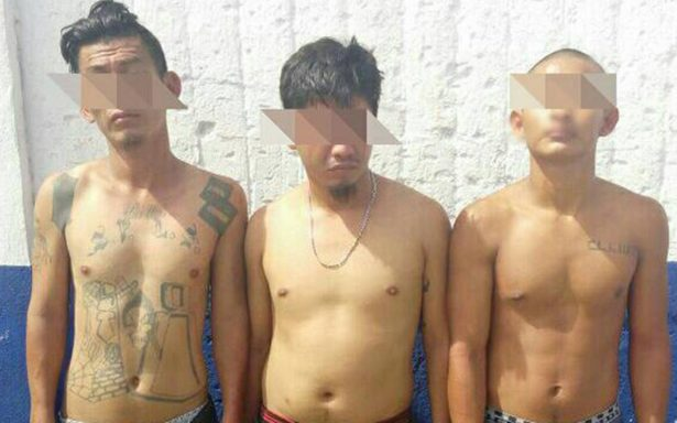 Continúa la cacería de maras; agarran a tres con droga en Tapachula