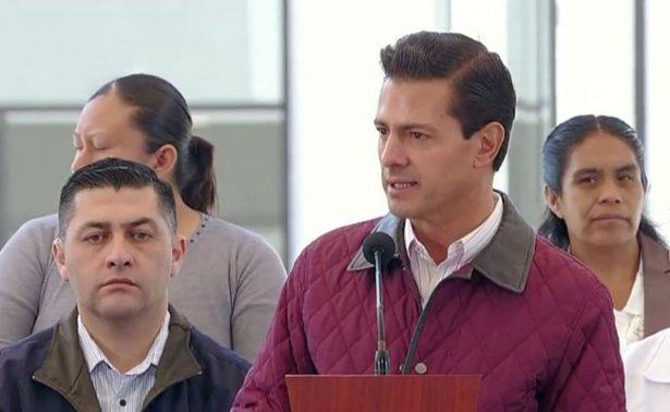 Supervisará Peña Nieto la construcción del nuevo aeropuerto de CDMX