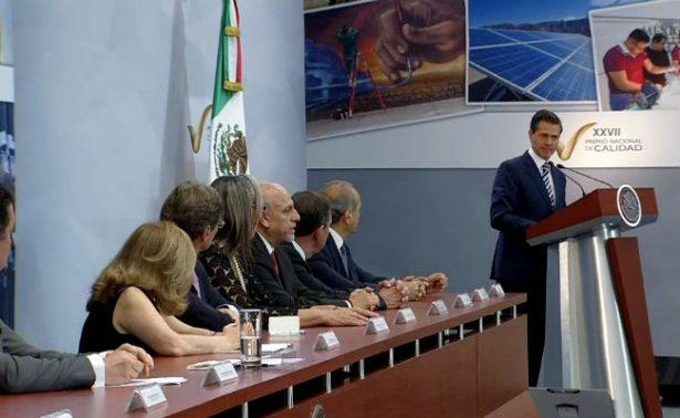 Es el mejor sexenio en creación de empleos, hay 2.6 veces más en comparación: Peña Nieto