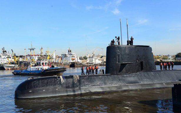 Argentina refuerza búsqueda a tres días de la pérdida de submarino