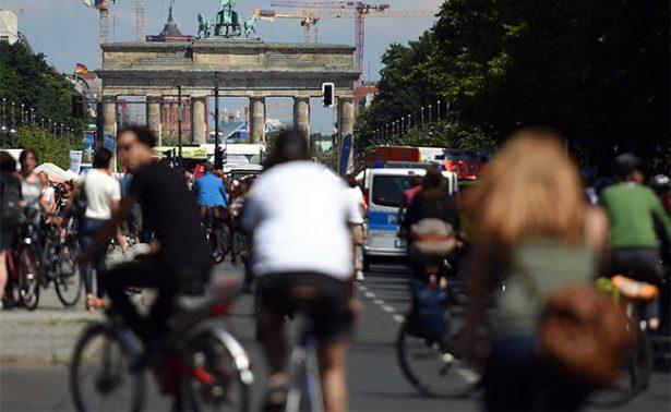 Berlín quiere ser otra vez el paraíso de los ciclistas