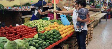 Inflación se coloca en 0.33 por ciento impulsada por alza en alimentos y energéticos