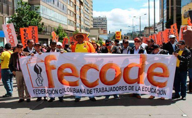 Maestros de educación pública de Colombia vuelven a paro nacional
