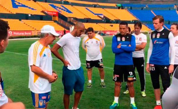 Guido Pizarro se despide de los Tigres de la UANL