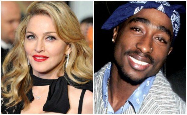 """¡El rapero Tupac dejó a Madonna por """"ser blanca""""!"""