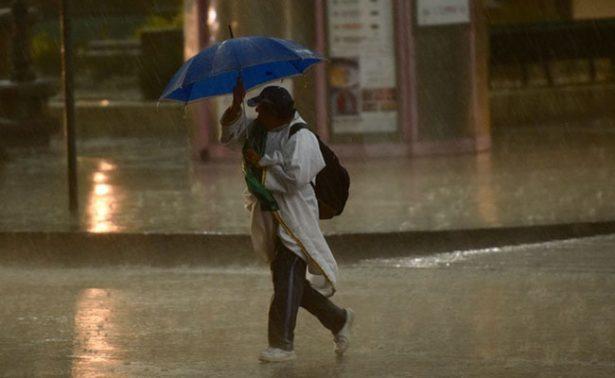 Se prevén lluvias de diferente intensidad en la mayor parte del territorio nacional