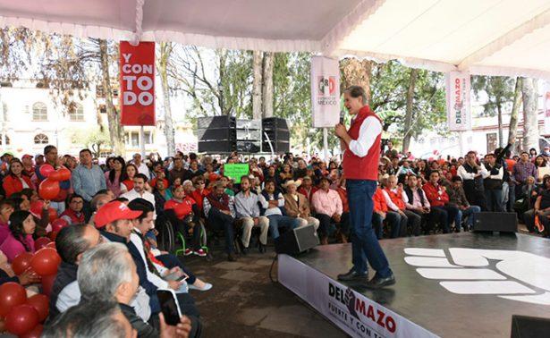 PRD denuncia a Del Mazo por rebasar gastos de campaña