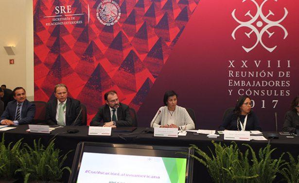 México actuará con dignidad e inteligencia ante cambio en EU:SRE