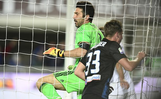 El Atalanta empató a dos goles ante la Juventus