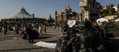 Desde el cielo una… ¿sucia mañana? Peregrinos dejan 1.2 toneladas de basura