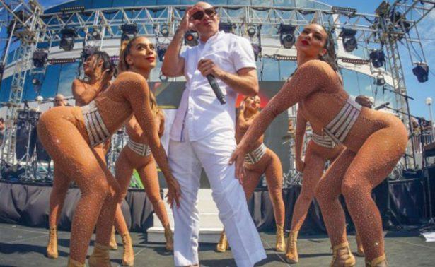 """¡Pitbull se va de crucero! Será el anfitrión del """"After Dark Party"""""""