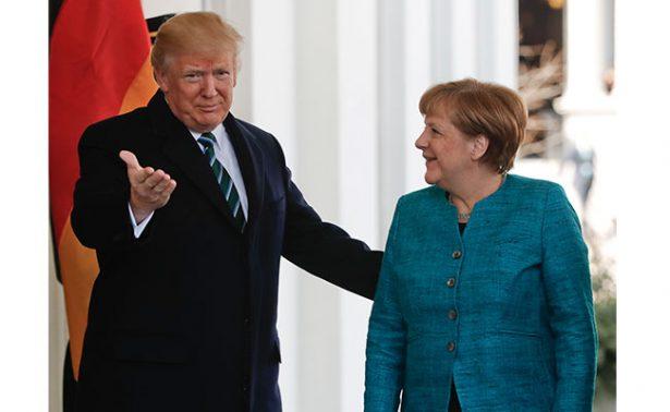 Trump y Merkel intentan llegar hoy a un acuerdo previo aCumbre G20