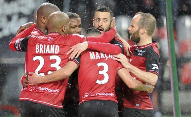 El Guingamp le gana al Nancy en la Liga de Francia