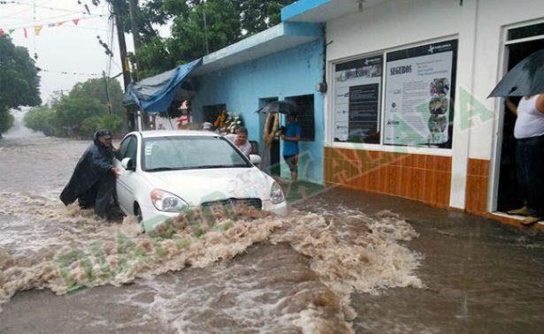Furia de la naturaleza: lluvias desbordan Río Actopan