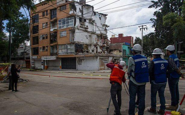 CDMX afectada por sismos: demolerán 211 inmuebles en cinco delegaciones