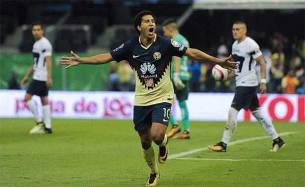 América se lleva el clásico capitalino: vence 2-1 a Pumas