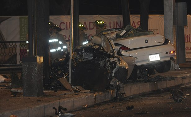 Dan prisión preventiva al conductor del BMW accidentado en Reforma
